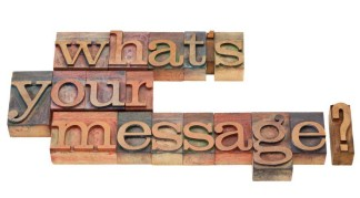 What's your message?